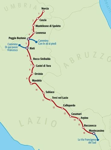 Cammino Benedetto