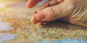 mapa ruka