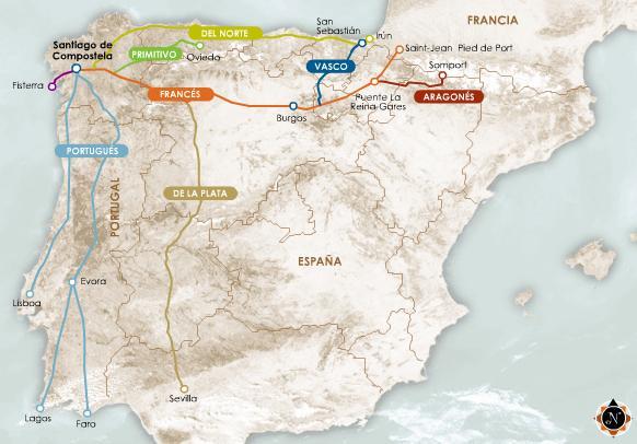 Španělské trasy